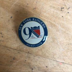 NEW NHL New York Rangers Hockey Club Pin